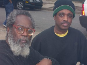 Kalamu ya  Salaam & Michael Woods at Recovery Camp Dorgenois