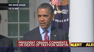 Obama on Trayvon